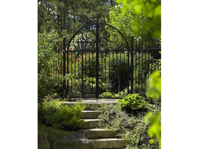 Ogrodowa brama kuta OBK01