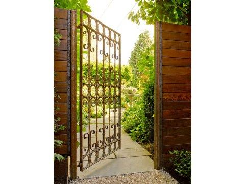 Ogrodowa brama kuta OBK03