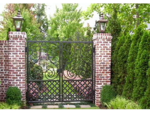Ogrodowa brama kuta OBK04