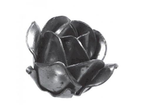 Stalowy kuty kwiat róża fi60mm