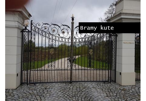 Bramy Kute - Ponad 100 wzorów bram kutych